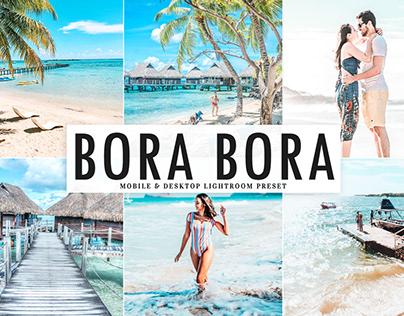 Free Bora Bora Mobile & Desktop Lightroom Preset