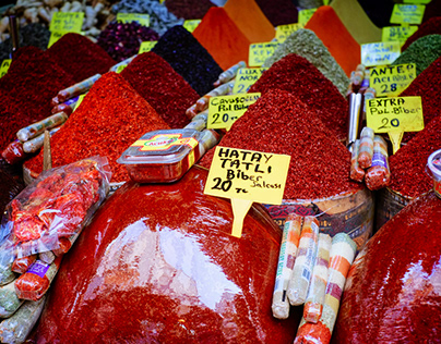 Colours of Grand Bazaar in Istanbul