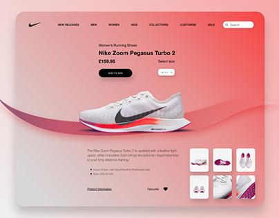 Nike Zoom Pegasus Turbo 2 Web UI