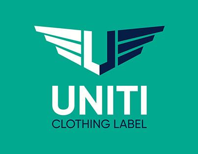 Uniti Clothing Label - Logo & website