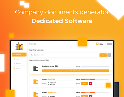 Company Generator | Dedicated Software