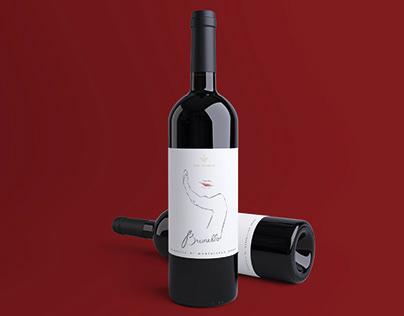 Wine Label Brunello