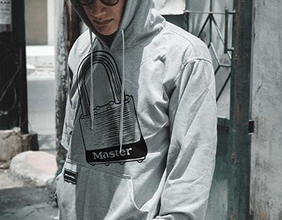 Master Lock Streetwear Illustration