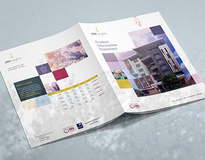 Uni Heights Branding & Brochure Design
