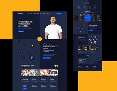 Rasalina_Personal Portfolio Website Design