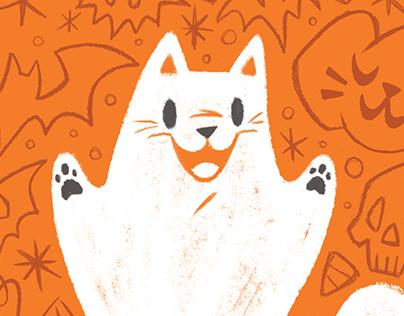 Spooky Cat Ghost