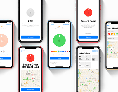 Apple Tags Concept