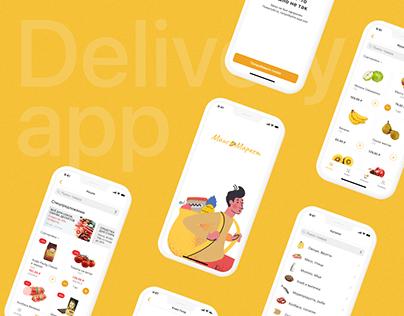 MangoMarket | Delivery App