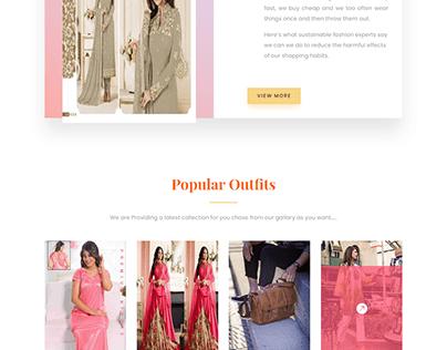 E-commerce Online shop Website