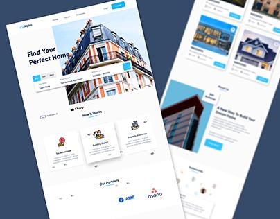 Alpha Real Estate Website