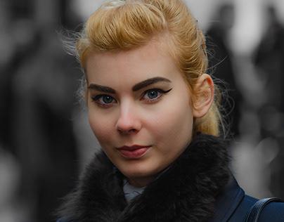 Street Portrait of Strangers London