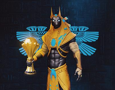 Anubis Egyptian