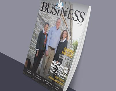 i4 Business Magazine Design