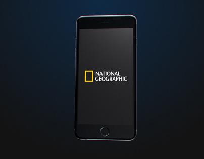National Geographic - Splash Screen Animation