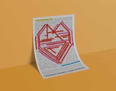 Stevenson University School of Design Poster Brochure