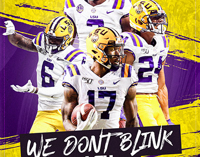 We Don't Blink Graphic