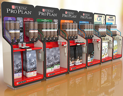 Purina display