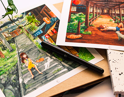 Watercolors illustrations