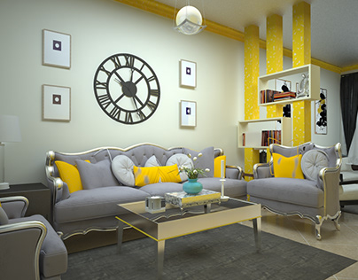 simple living room