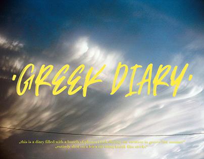 GREEK DIARY