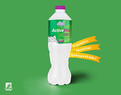 Probiotic Yoghurt - Package Design
