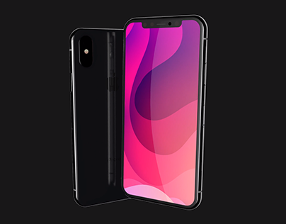 iPhone X Animated AE Mockups (4K 60fps)
