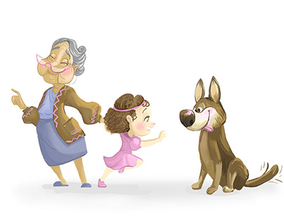 Family character design