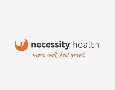 Necessity health rebrand