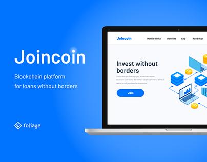 Joincoin - blockchain loans