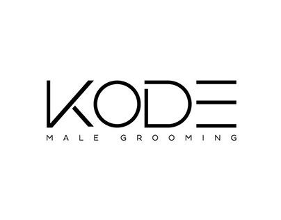 KODE Male Grooming logo