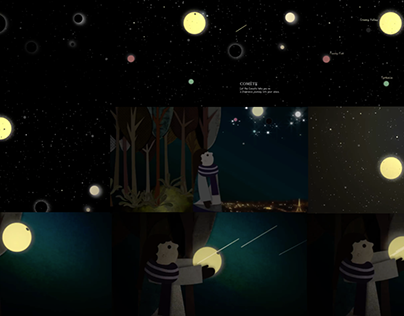 Comète Animation
