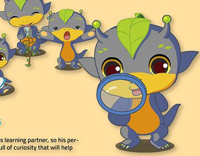 Character design for Children's tablet