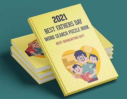 Book Cover Design- Word Search Puzzle Book