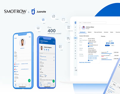 Jusnote: One of the largest CRM systems for lawyers