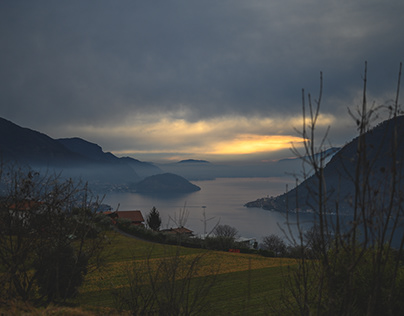 Winter at Lago d'Iseo