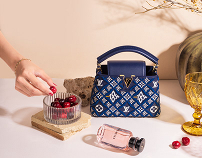 Louis Vuitton Luxury Product Photography