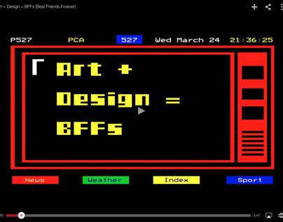Art + Design = BFFs