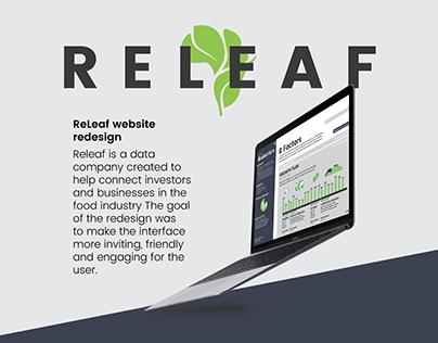 ReLeaf Redesign