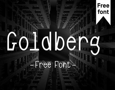 GOLDBERG – Free Font