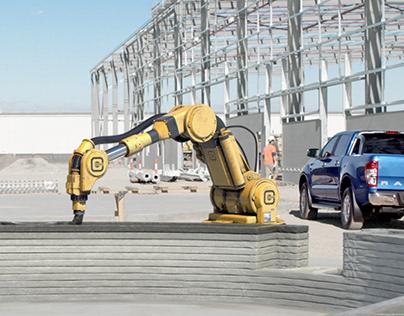 Ford Ranger CG robot