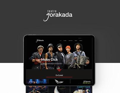 Web development of the Gorakada theater