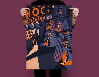 NOC KSIĘGARŃ poster