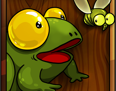 Eat them all - frog adventures