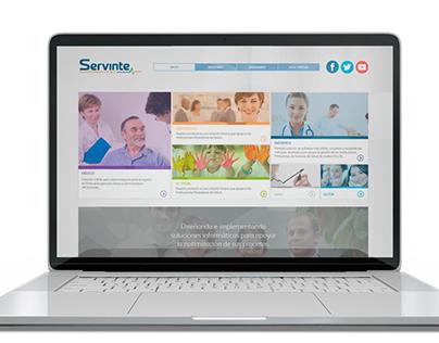 Sitio Web Servinte