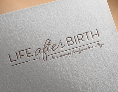Branding Design Package - Life After Birth 2019