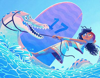 Spinosaurus Sailors