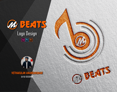 M Beats - Logo Design