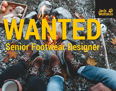 We are hiring: Senior Footwear Designer