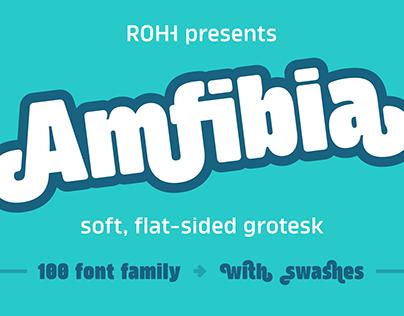 Amfibia™ Type Family - modern soft grotesk