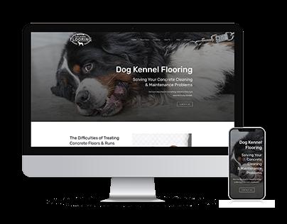 Dog Kennel Flooring Website Design